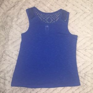 Little girls sz 14 soft lace tank top total girl